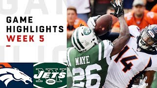 Download Broncos vs. Jets Week 5 Highlights | NFL 2018 Video