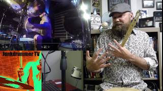 Download Drum Teacher Reacts to Travis Barker - Hearts All Gone - Blink 182 - Episode 29 Video