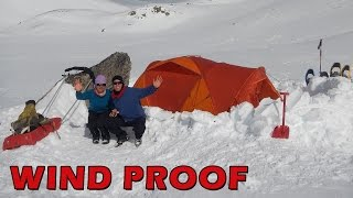 Download How to Windproof a Snow Tent Video