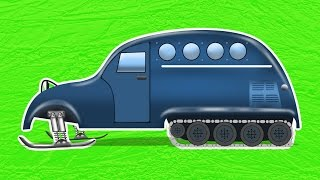Download Bombardier person snow coach | formation & use | snow vehicles Video