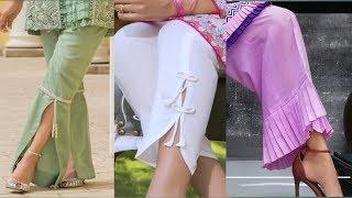 Download Latest women pants/trouser/plazo designing idea 2019| Stylish trouser design Video