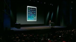 Download Apple Special Event 2013 - iPad Air Introduction Video
