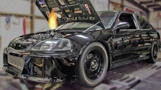 Download Turbo Honda Dominates STREET RACES! Video