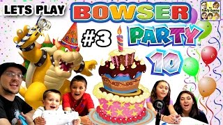 Download Lets Play MARIO PARTY 10! Bowser Party in Mushroom Park! (FGTEEV 5 Player FAMILY GAMEPLAY Part 3) Video
