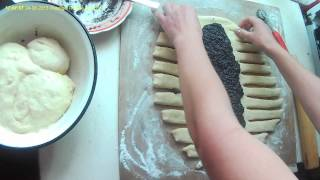 Download Плетенка из теста. Braid the dough. Video