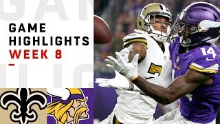 Download Saints vs. Vikings Week 8 Highlights | NFL 2018 Video