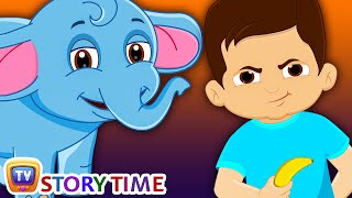 Download Boy & Baby Elephant - Bedtime Stories for Kids in English | ChuChu TV Storytime Video