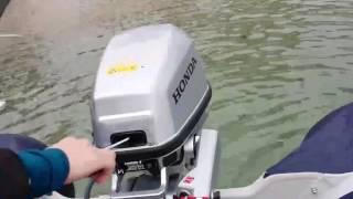 Download Embarcación Honwave T27 Con motor BF5 puesta en marcha y navegación Sailingbicycling Video