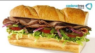 Download Receta de sandwich de roast beef con aderezo de blue cheese. Receta de roast beef Video