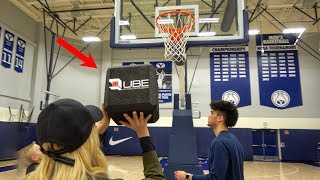 Download What's inside a SQUARE BASKETBALL? Video
