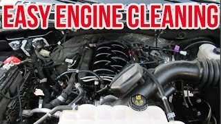 Download HOW TO CLEAN YOUR ENGINE - NO WATER NO SCRUBBING Video
