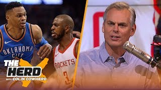 Download Colin Cowherd reacts to Westbrook-CP3 trade, says neither team 'won' the trade | NBA | THE HERD Video