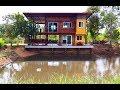 Download บ้านสวนริมน้ำสองชั้น ความสวยงามจากปูนเปลือย ลงตัวกับวัสดุไม้สุดคลาสสิค พร้อมมุมพักผ่อนรับลมเย็น Video
