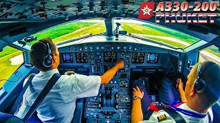Download Piloting the AIRBUS A330 out of Phuket, Thailand Video