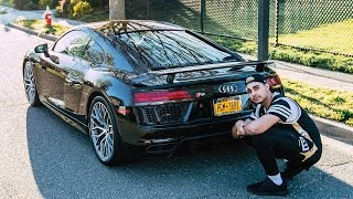 Download MY NEW CAR - FIRST 2017 AUDI R8 IN AMERICA Video