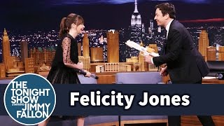 Download Felicity Jones Demos Her Badass Star Wars Fight Moves on Jimmy Video