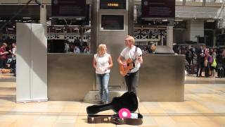 Download Surprise Wedding Proposal at Paddington Train Station London Video