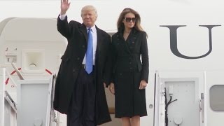 Download Trump Arrives In DC For Inauguration Video