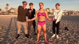 Download Crazy dares on the beach PART 2! Video