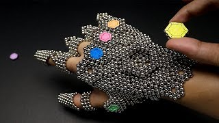 Download Amazing THANOS gauntlet made out of 1,728 magnets Video