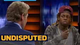 Download Lil Wayne vs. Skip: Is LeBron clutch? | UNDISPUTED Video