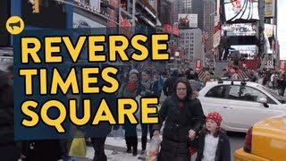 Download Reverse Times Square Video