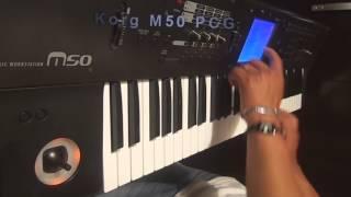 Download SONIDOS PCG KORG M50 - MIX CORALI Video