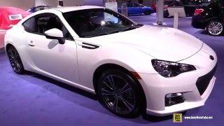 Download 2016 Subaru BRZ - Exterior and Interior Walkaround - 2016 Detroit Auto Show Video