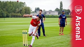 Download Can you bowl better than these Arsenal stars? Video