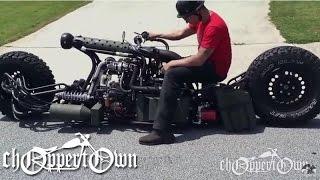 Download Twin Turbo Diesel AWD Motorcycle (Bike & Builder episode 2) Video