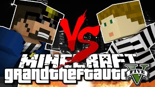 Download Minecraft Challenge - GTA V - COPS VS ROBBERS Video