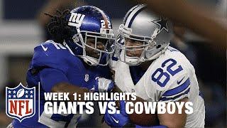 Download Giants vs. Cowboys | Week 1 Highlights | NFL Video