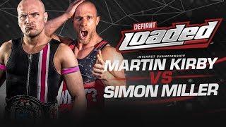 Download Defiant Loaded #28: Simon Miller Challenges For Internet Title Video