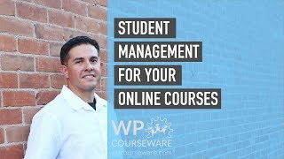 Download Student management for your online courses - WP Courseware Video