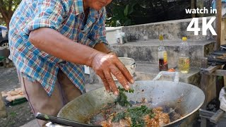 Download How to Make Thai Chili Frog (ผัดเผ็ดกบ) — Delicious Village Thai Food Eating! Video