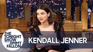 Download Kendall Jenner Reads a Letter She Wrote as a Teen Predicting Her Modeling Fame Video