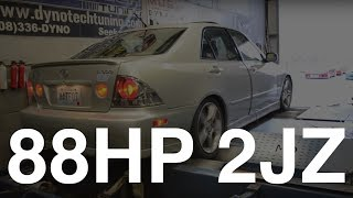 Download 88hp 2JZ IS300 On The Dyno Video