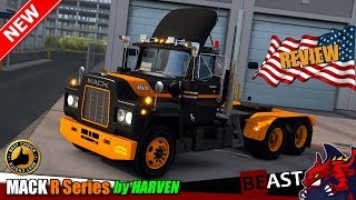 Download ATS (1.31) | truck mod ″MACK R Series″ v1.0 by HARVEN - review Video