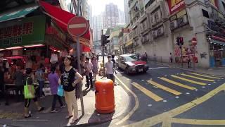 Download 【Hong Kong Walk Tour】Central Mid-level - Sai Ying Pun - Sun Yat Sen Memorial Park Video