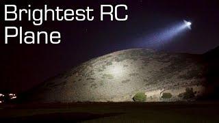 Download Brightest RC Plane SPOTLIGHT 13,000 Lumens - RCTESTFLIGHT Video