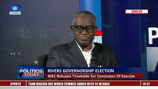 Download Rivers Polls: INEC Reveals Why Collation Of Results Was Stopped |Politics Today| Video