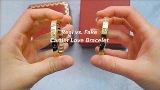 Download Comparison of Real vs. Fake Cartier Love Bracelet 2017 Video