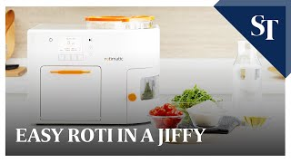 Download Automatic roti maker Rotimatic - How it works Video