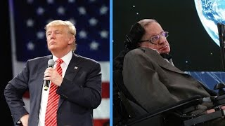 Download Stephen Hawking On Donald Trump: 'He's A Demagogue' Video