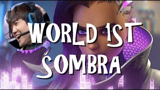 Download Overwatch Highlight - ESCA the World 1st Sombra Pick in Tournament (epic fail) Video