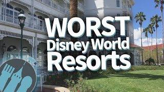 Download The WORST Walt Disney World Resorts! Video