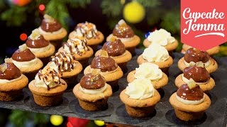 Download Chocolate & Ginger Cookie Cup Cheesecakes | Cupcake Jemma Video