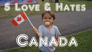 Download Visit Canada - 5 Things You Will Love & Hate About Canada Video