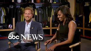 Download Michelle Obama, Prince Harry Interview About The Invictus Games Video