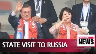Download President Moon completes three-day state visit to Russia Video